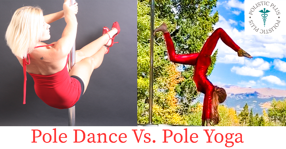 Pole dance vs pole yoga