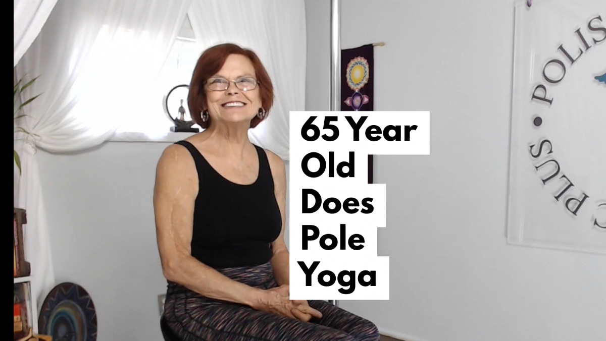 65 year old does pole yoga